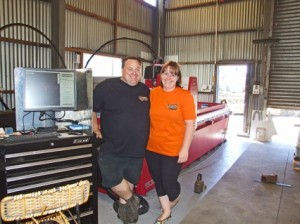 Gregories Water Cutter - Jason and Pauline