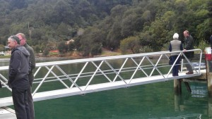 Linkspan - Mistletoe Bay Campground, Marlborough Sounds